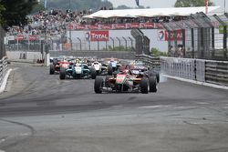 Start of the 71st Grand Prix de Pau