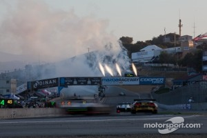 Mazda Raceway Laguna Seca 2012 GT winning Corvette