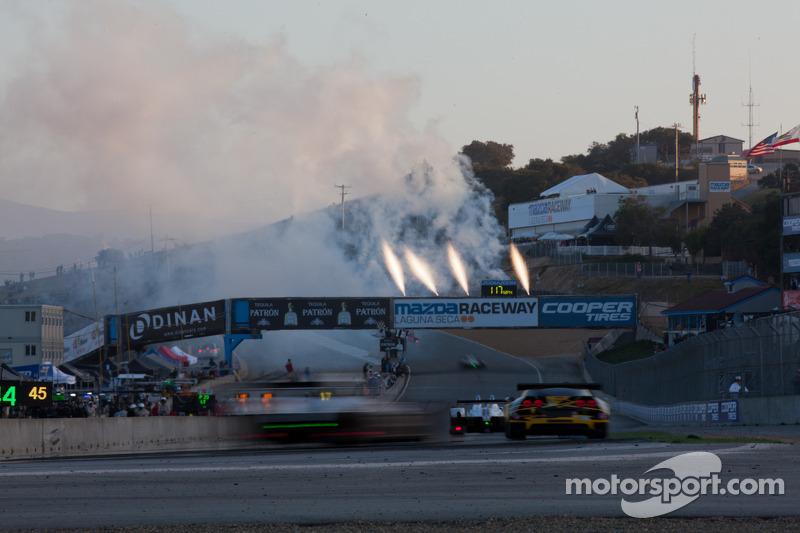 #4 Corvette Racing takes the checkered flag