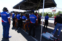 Action Express Racing pit box