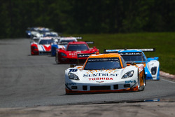 Ricky Taylor #10 Suntrust Racing Chevrolet Corvette Dallara Dp started on pole