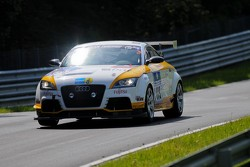#119 MSC Odenkirchen e.V. im ADAC Audi TT RS: Torsten Kratz, Andreas Schettler, Christian Kranenberg, Sebastian Kemper