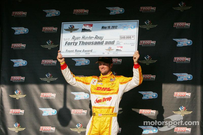 Third fastest Ryan Hunter-Reay, Andretti Autosport Chevrolet
