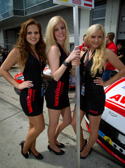 AVIA Racing Team Bratke grid girls