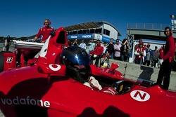 Bud Moeller Ferrari F2003-GA historic Formula 1 car