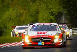 #15 Black Falcon Mercedes-Benz SLS AMG GT3: Sean Edwards, Jeroen Bleekemolen, Manuel Metzger, Ralf Schall
