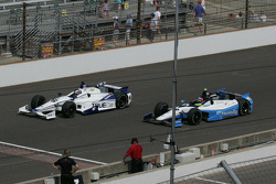 Katherine Legge, Dragon Racing Chevrolet and Townsend Bell Sam Schmidt Motorsports Honda