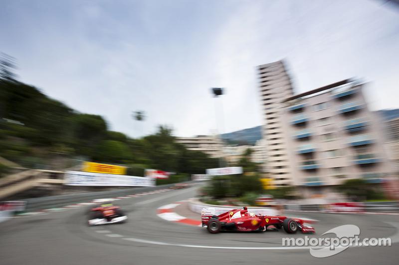 Fernando Alonso, Ferrari voor Felipe Massa, Ferrari