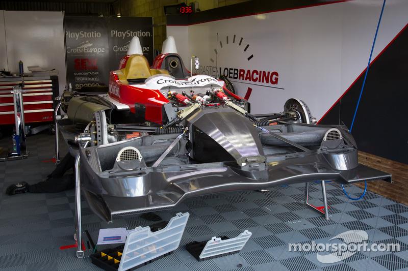 Sébastien Loeb Racing garage area