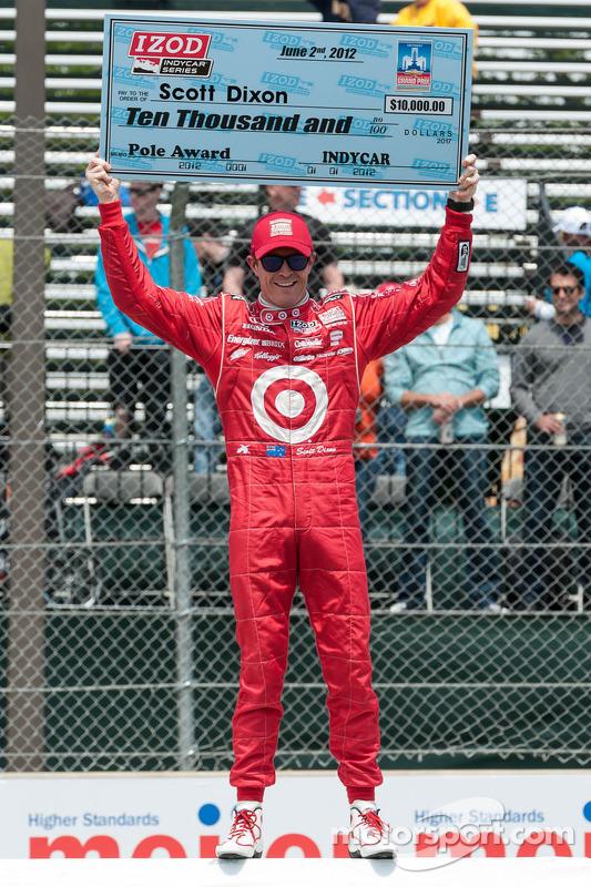 Scott Dixon, Target Chip Ganassi Honda viert polepositie