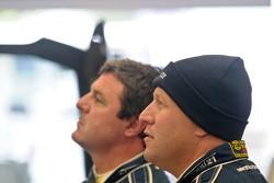Mark Blundell en Zak Brown