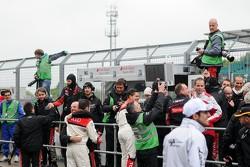 Audi Team WRT celebrate