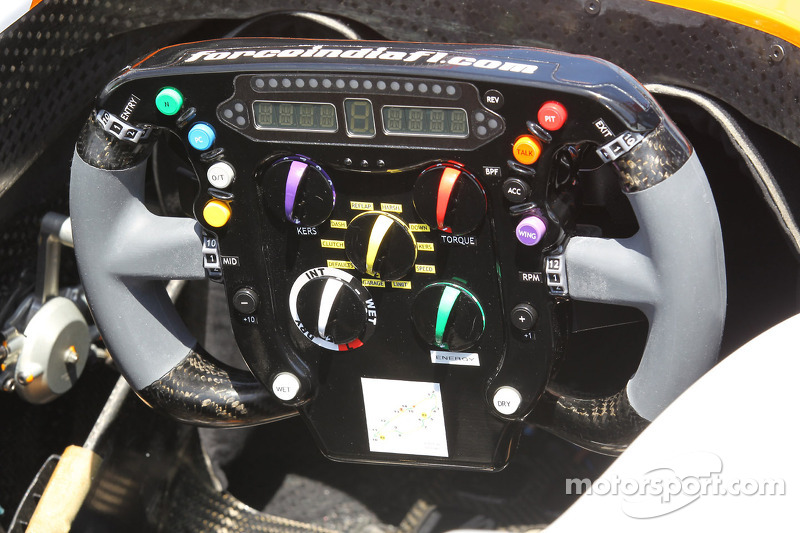 Force India stuurwiel