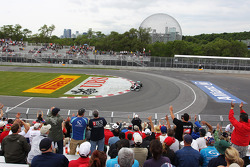 Michael Schumacher, Mercedes AMG F1 applauded by fans in the grandstand