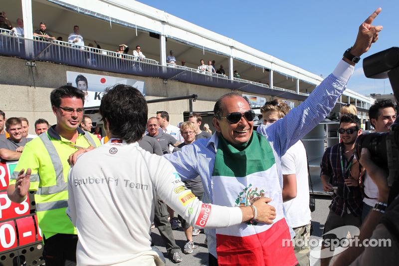 3rd place Sergio Perez, Sauber F1 Team F1 Team