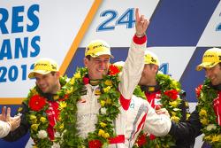LMP2 podium: class winner Enzo Potolicchio