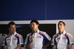 Nicolas Lapierre, Kazuki Nakajima and Sébastien Buemi