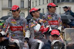 Pierre Thiriet, Mathias Beche and Christophe Tinseau