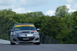 #03 Atlanta Motorsports Group Mazda Mazdaspeed 3 : Michael Cooper