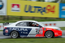 #42 RealTime Racing Acura TSX : Peter Cunningham