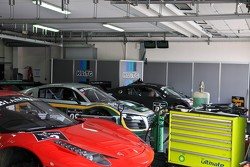 Busy garages
