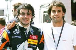Pietro Fantin and Felipe Nasr