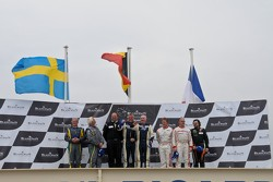 Gentlemen Driver Podium: Jan Brunstedt, Mikael Bender, Christian Kelders, Daniel Desbrueres,Philippe Marie, Robert Hissom, Pierre Hirschi