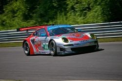 #44 Flying Lizard Motorsports Porsche 911 GT3 RSR: Marco Holzer, Seth Neiman