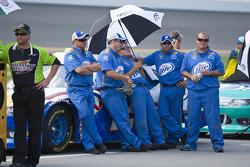 The Penske Racing crew