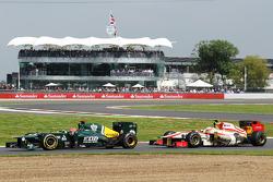 Heikki Kovalainen, Caterham and Narain Karthikeyan, HRT Formula One Team HRT