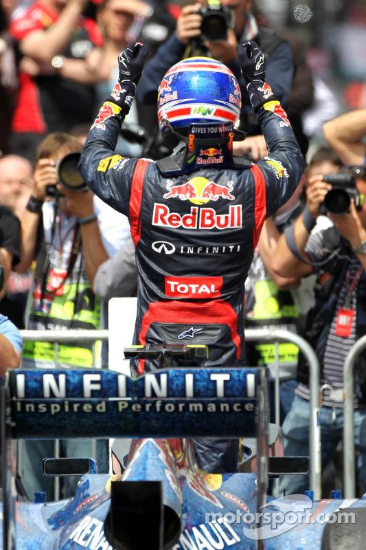 1st place Mark Webber, Red Bull Racing