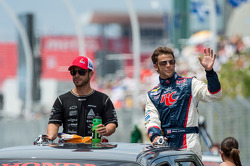 E.J. VIso and Marco Andretti