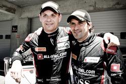 Race winners Markus Winkelhock, Marc Basseng