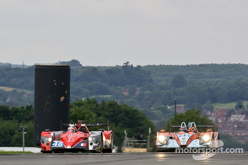 #46 Thiriet by TDS Racing Oreca 03 Nissan: Mathias Beche, Pierre Thiriet #24 Oak Racing Morgan Judd: Jacques Nicolet, Matthieu Lahaye