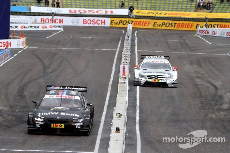 Semi Finals Jamie Green, Team HWA AMG Mercedes, AMG Mercedes against Bruno Spengler, BMW Team Schnitzer BMW M3 DTM