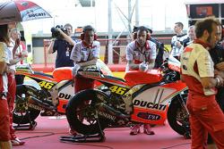 Le stand du Ducati team