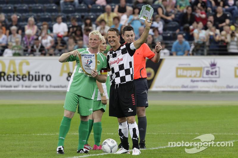 Guido Cantz and Michael Schumacher