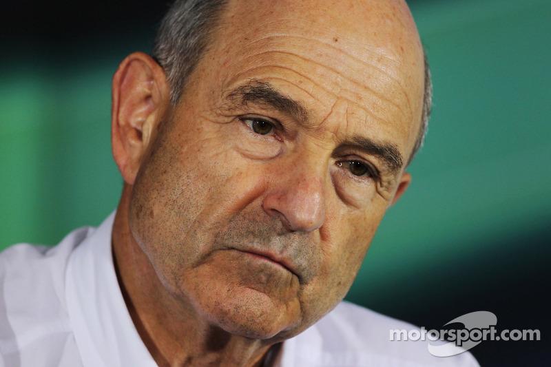Peter Sauber, Sauber Team Principal in the FIA Press Conference