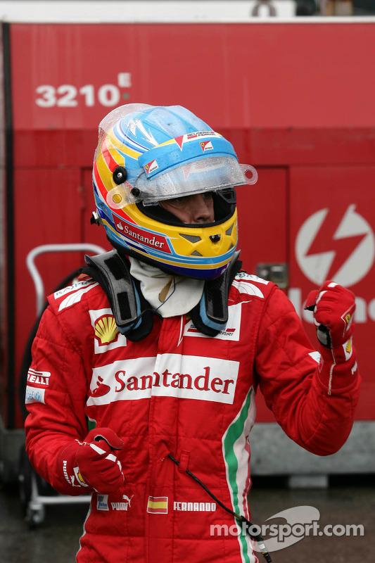 Pole position para Fernando Alonso, Scuderia Ferrari