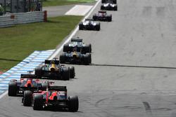 Timo Glock, Marussia F1 Team, back, field