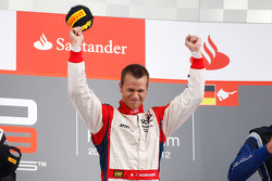 Podium: race winner Patric Niederhauser