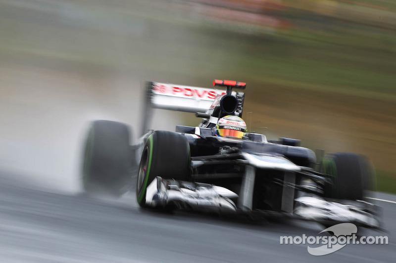 Williams 2012: Pastor Maldonado, Williams FW34
