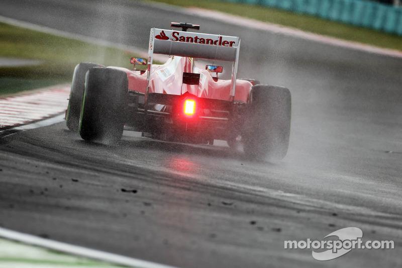 Fernando Alonso, Ferrari in de regen