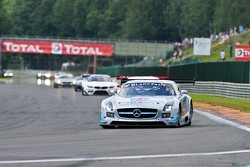 #90 Preci-Spark Mercedes-Benz SLS AMG GT3: David Jones, Godfrey Jones, Mike Jordan, Bernd Schneider