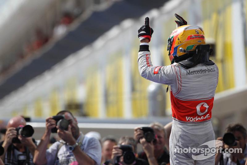 Lewis Hamilton, ganador del GP de Hungría 2012
