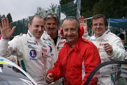 Marc Rostan, Claude-Yves Gosselin, Pierre Bruneau