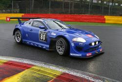 #80 Emil Frey Racing Emil Frey Jaguar XK: Fredy Barth, Gabriele Gardel, Lorenz Frey, Rolf Maritz
