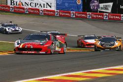 #11 Sport Garage Ferrari 458 Italia GT3: Gilles Duqueine, Eric Vaissière, André-Alain Corbel, Christian Beroujon