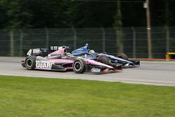 J.R. Hildebrand, Panther Racing Chevrolet Alex Tagliani, Bryan Herta Autosport w/Curb Agajanian Honda