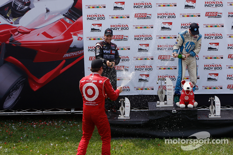 Scott Dixon, Will Power,  Simon Pagenaud